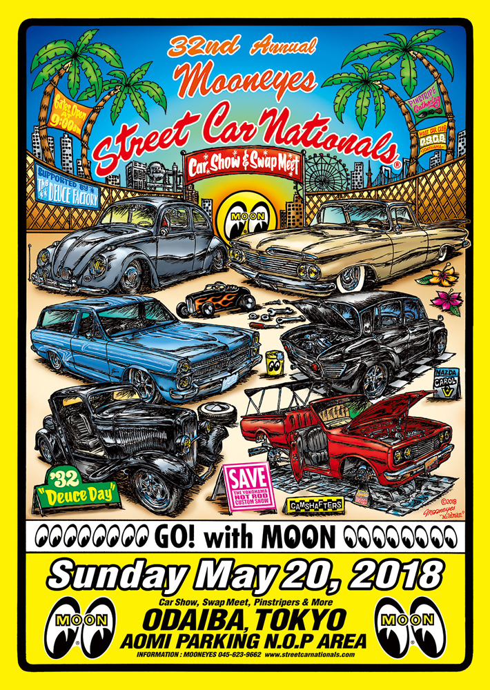 32nd Annual MOONEYES Street Car Nationals ®